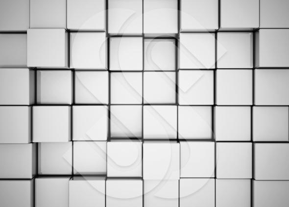 background made of 3d cubes