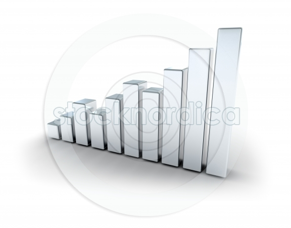 Silver business graph
