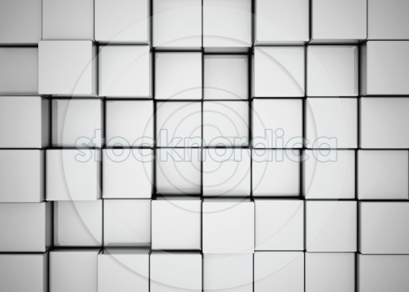 Abstract 3d background cubes