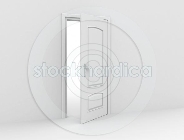Door opening and blank wall