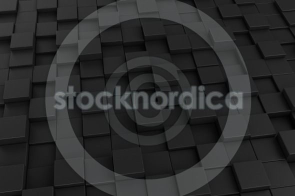 Abstract background made of 3d cubes