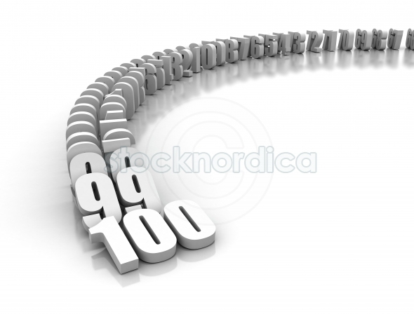Numbers domino effect