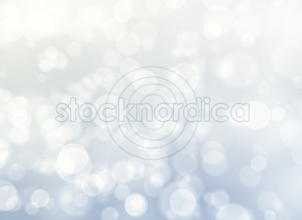 blue and white bokeh abstract light background