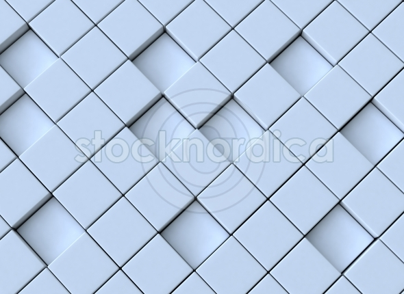 Abstract cubes 3d background