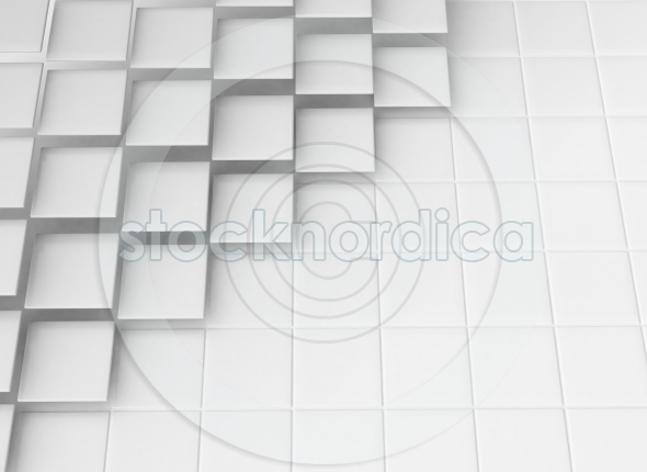 Abstract squares 3d design background